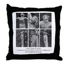 Cool Morman Throw Pillow