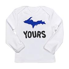 UP Upper Peninsula Michigan Long Sleeve Infant T-S