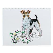 Fox Terrier Calendar Wall Calendar