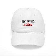 """The World's Greatest ER Nurse"" Baseball Cap"