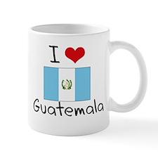I HEART GUATEMALA FLAG Small Mug