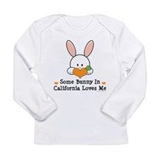 Some Bunny In California Loves Me Long Sleeve T-Sh
