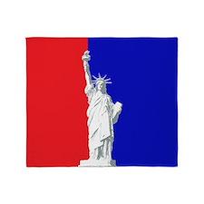 Statue of Liberty, Throw Blanket