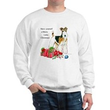 Merry Little Fox Terrier Sweatshirt