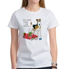 Merry Little Fox Terrier Tee