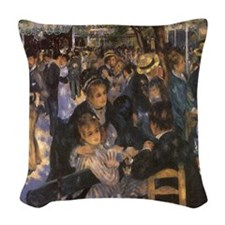 Dance at Le Moulin de la Galette by Renoir Woven T