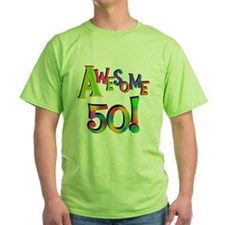 Awesome 50 Birthday T-Shirt