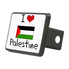 I HEART PALESTINE FLAG Hitch Cover
