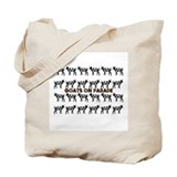 Goats on Parade Tote Bag