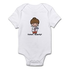 Future Scientist Girl Infant Bodysuit