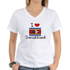 I HEART SWAZILAND FLAG T-Shirt