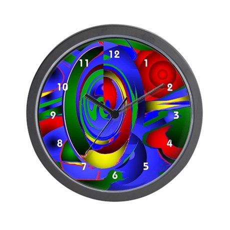 Abstract 001a Wall Clock