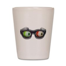 Look Out! Bloodshot Eyebal Glasses Shot Glass