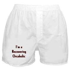 Recovering Orcaholic Boxer Shorts