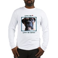 I Love Boxers Long Sleeve T-Shirt