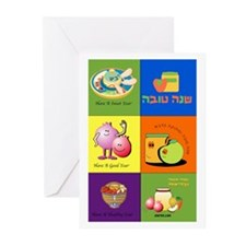 Hebrew English Greeting Card Greeting Cards (Pk of