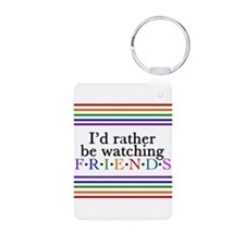 Friends TV Fan Keychains