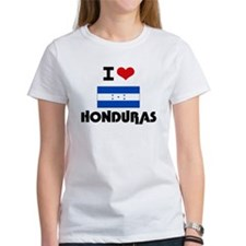 I HEART HONDURAS FLAG T-Shirt