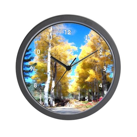 Aspen Trail Wall Clock