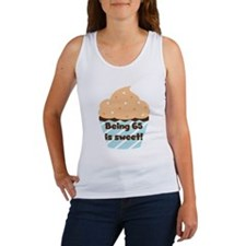 Cupcake Sweet 65th Birthday Tank Top