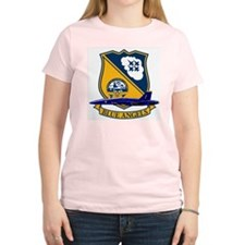 F-18 Blue Angels Women's Pink T-Shirt