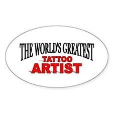 """The World's Greatest Tattoo Artist"" Decal"
