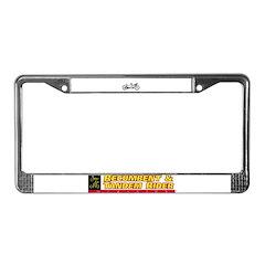 Tandem License Plate Frame