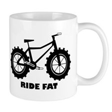 fat tire logo Ride Fat Mug