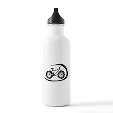 Black swoop fatbike logo Water Bottle