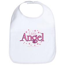 """Little Angel - Classic"" Bib (Pink)"