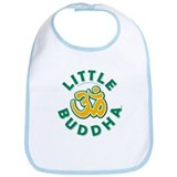 Little Buddha Yoga Symbol Baby Yoga Clothes Bib U