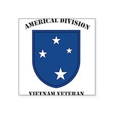 Americal Division Vietnam Vet Rectangle Sticker