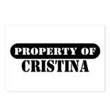 Property of Cristina Postcards (Package of 8)