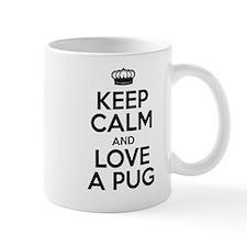 Keep Calm Pug Mug