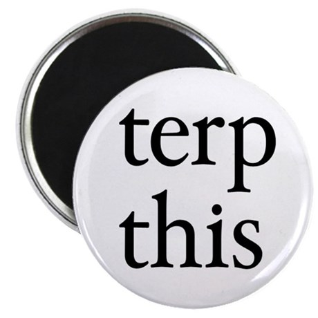 "Terp This White 2.25"" Magnet (100 pack)"