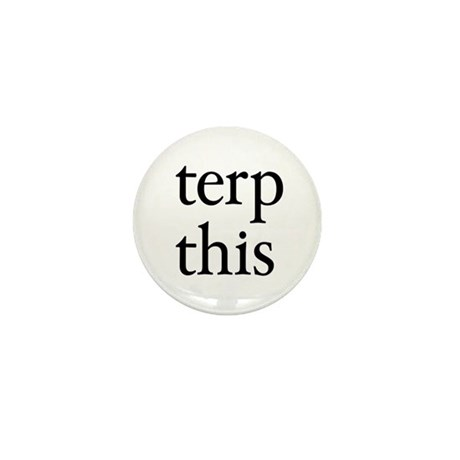 Terp This White Mini Button (100 pack)