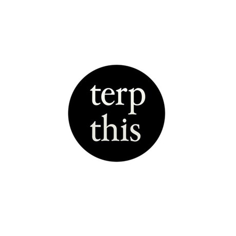 Terp This Black Mini Button (100 pack)