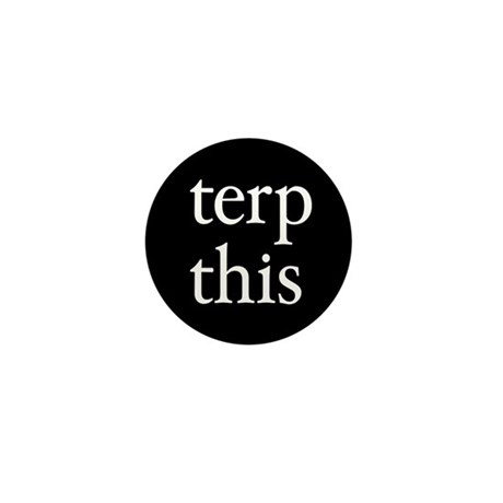 Terp This Black Mini Button