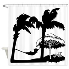 Lazy Dazy Shower Curtain