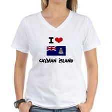 I HEART CAYMAN ISLAND FLAG T-Shirt