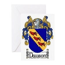 Dawson Coat of Arms Greeting Cards (Pk of 10)
