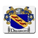 Dawson Coat of Arms Mousepad