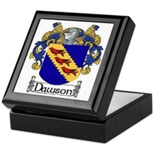 Dawson Coat of Arms Keepsake Box