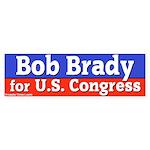 Bob Brady for Congress Bumper Sticker