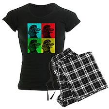 Poodle Pop Art Pajamas