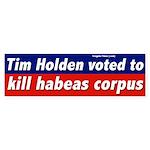 Tim Holden Voted Against Habeas Corpus
