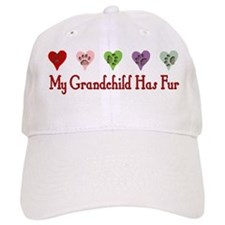 Furry Grandchild Baseball Cap