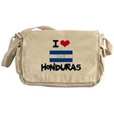 I HEART HONDURAS FLAG Messenger Bag