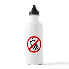 No Cellphones Water Bottle