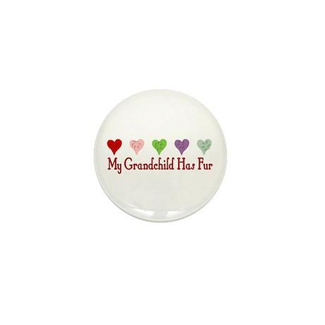 Furry Grandchild Mini Button (100 pack)